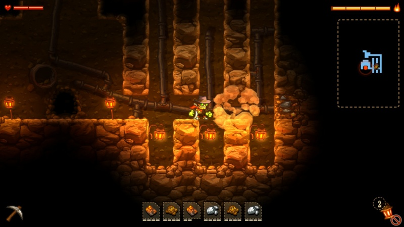 SteamWorld Dig - A Fistful of Dirt, Screenshot #6