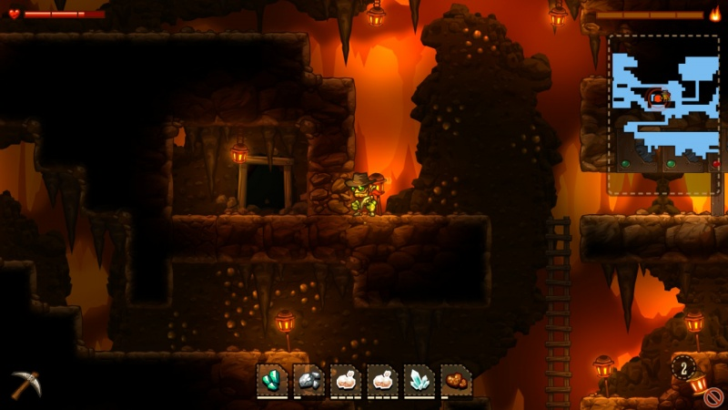 SteamWorld Dig - A Fistful of Dirt, Screenshot #8