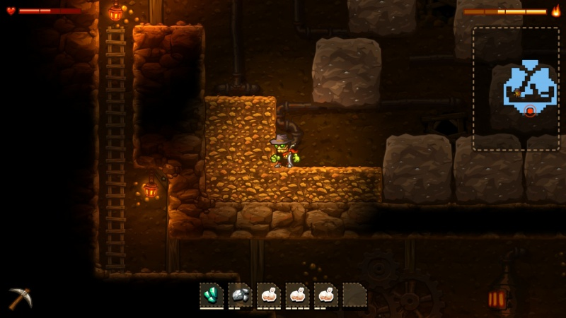 SteamWorld Dig - A Fistful of Dirt, Screenshot #10