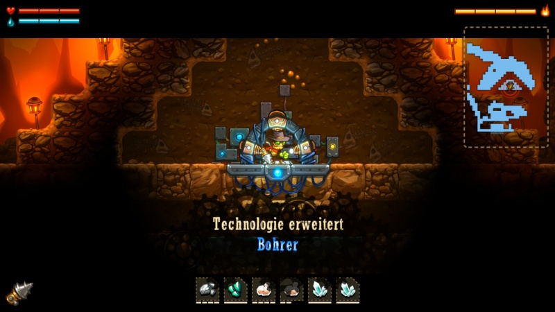 SteamWorld Dig - A Fistful of Dirt, Screenshot #11