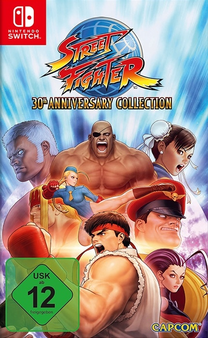 Street Fighter 30th Anniversary Collection, Covermotiv/Artwork