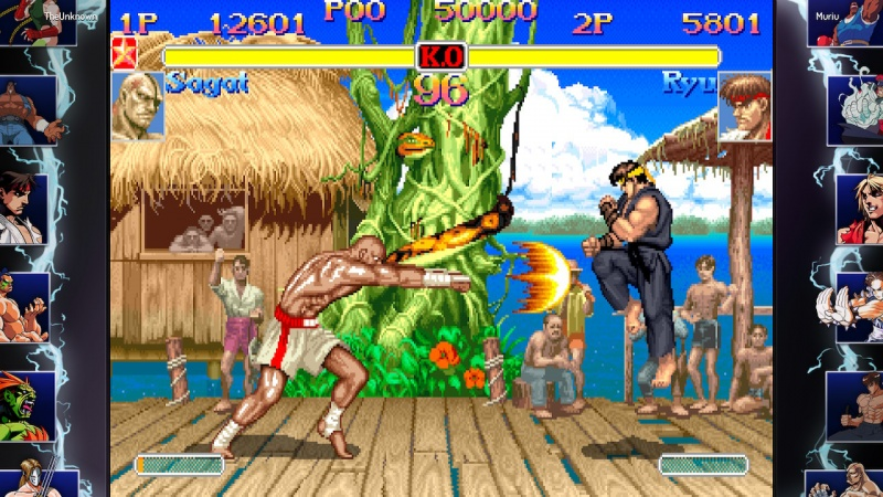 Street Fighter 30th Anniversary Collection, Screenshot #1