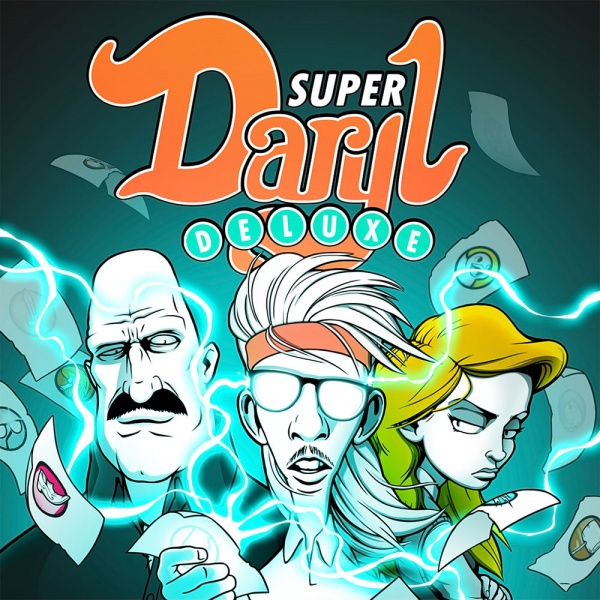 Super Daryl Deluxe, Covermotiv