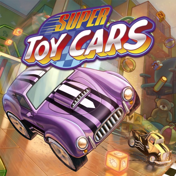 Super Toy Cars, Covermotiv