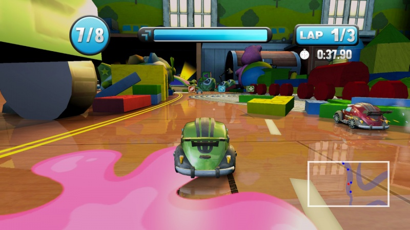 Super Toy Cars, Screenshot #1