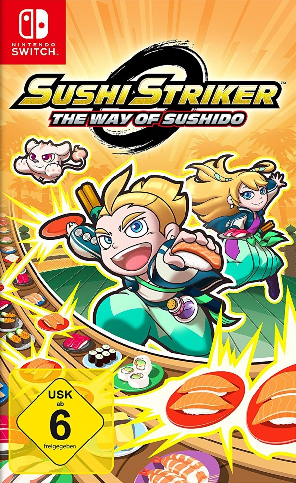 Sushi Striker: The Way of Sushido, Covermotiv