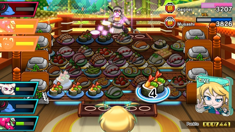Sushi Striker: The Way of Sushido, Screenshot #7