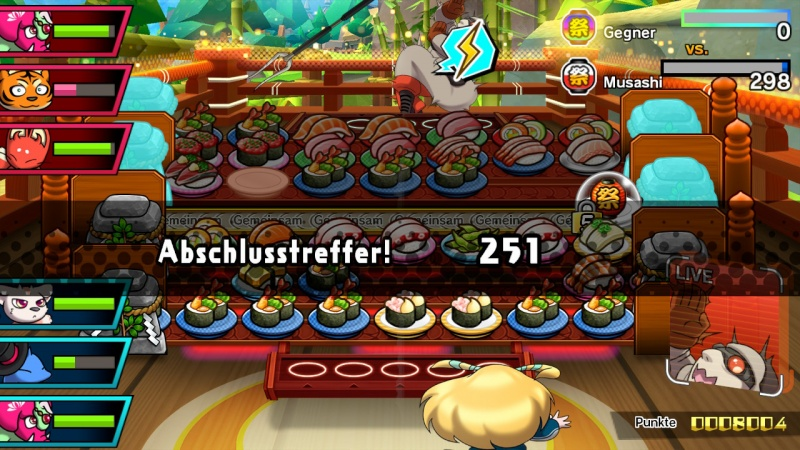 Sushi Striker: The Way of Sushido, Screenshot #9