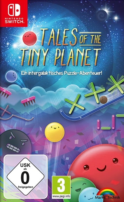 Tales of the Tiny Planet, Covermotiv