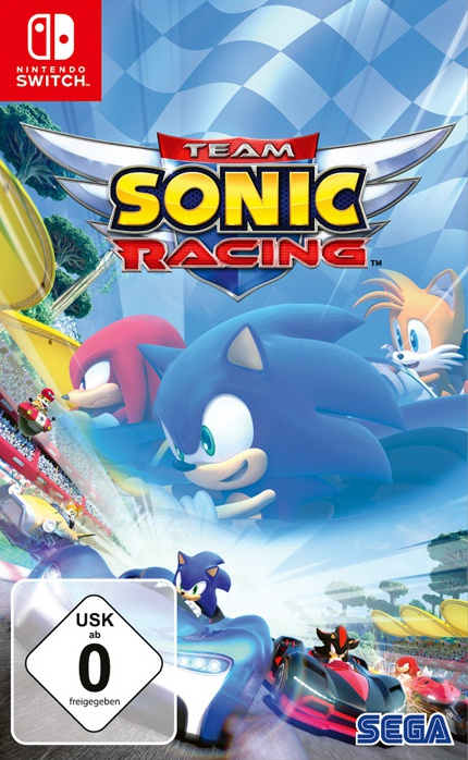 Team Sonic Racing, Covermotiv/Artwork