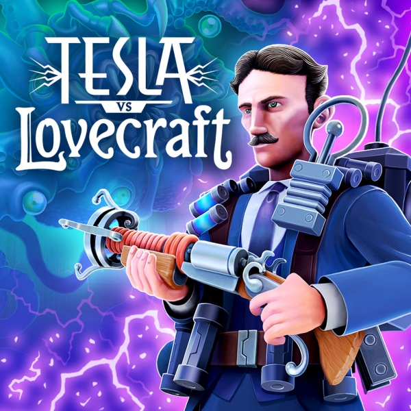 Tesla vs Lovecraft, Covermotiv