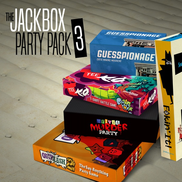 The Jackbox Party Pack 3, Covermotiv/Artwork