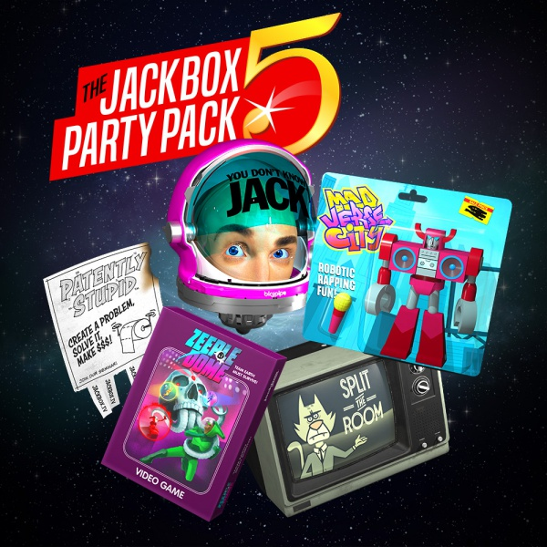 The Jackbox Party Pack 5, Covermotiv/Artwork