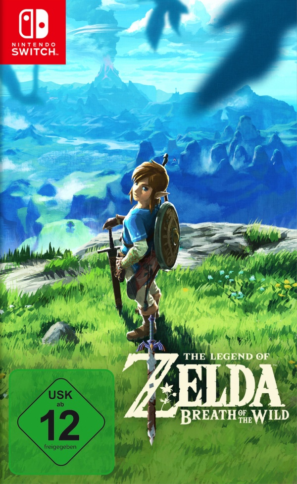 The Legend of Zelda: Breath of the Wild, Covermotiv/Artwork