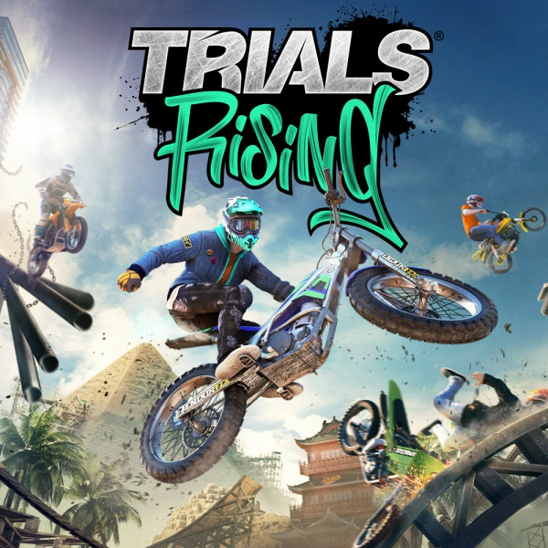 Trials Rising, Covermotiv/Artwork