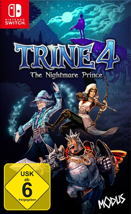 Trine 4: The Nightmare Prince, Covermotiv/Artwork