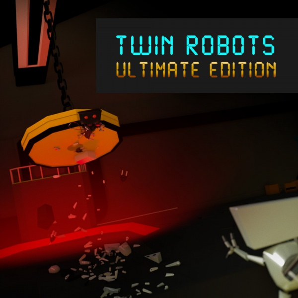 Twin Robots: Ultimate Edition, Covermotiv