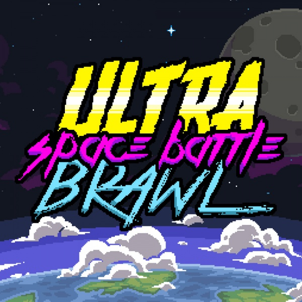 Ultra Space Battle Brawl, Covermotiv/Artwork