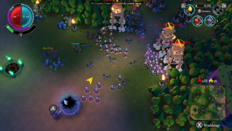 Undead Horde, Screenshot #1