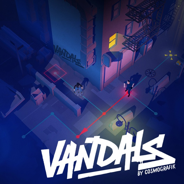 Vandals, Covermotiv/Artwork