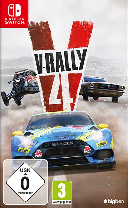 V-Rally 4, Covermotiv/Artwork