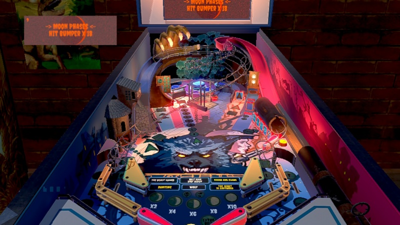 Werewolf Pinball, Screenshot #1