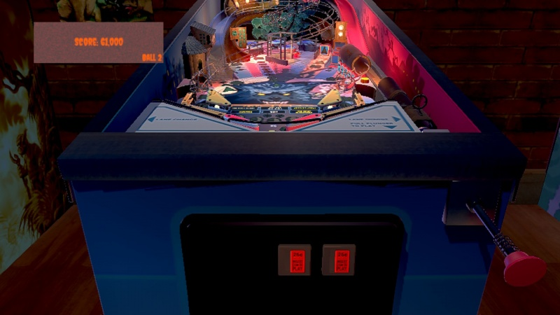 Werewolf Pinball, Screenshot #2