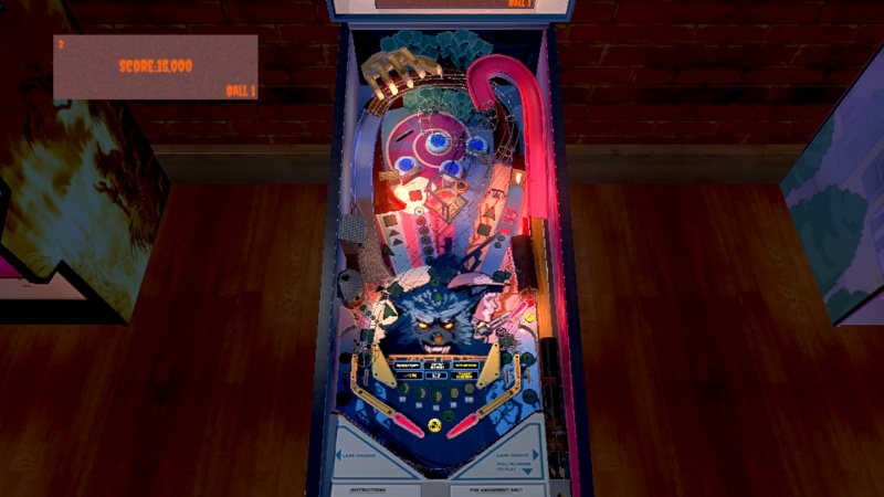 Werewolf Pinball, Screenshot #3