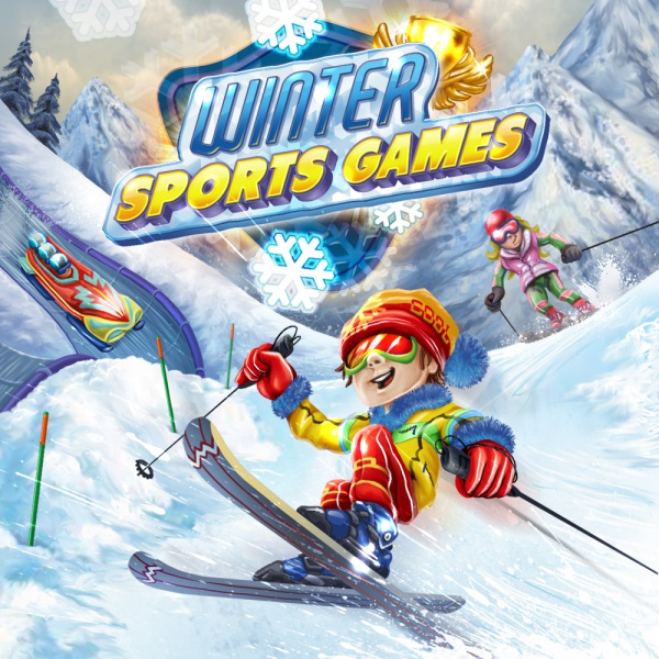 Winter Sports Games, Covermotiv/Artwork