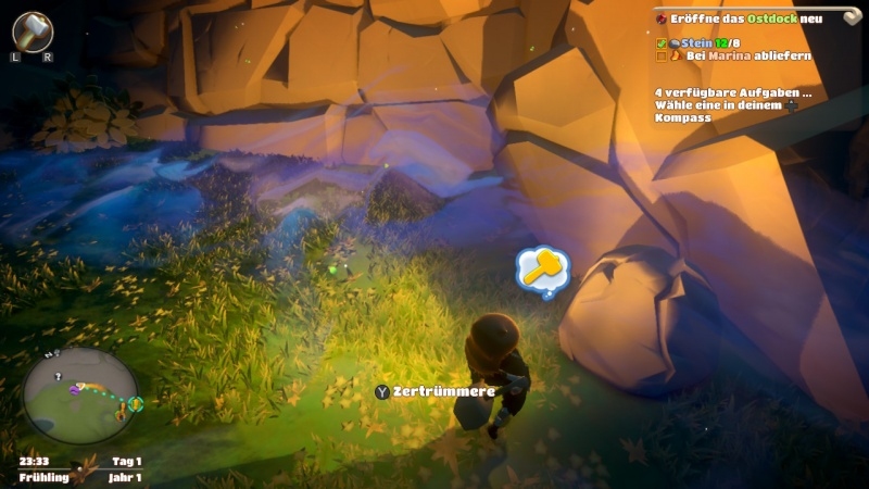 Yonder: The Cloud Catcher Chronicles, Screenshot #2