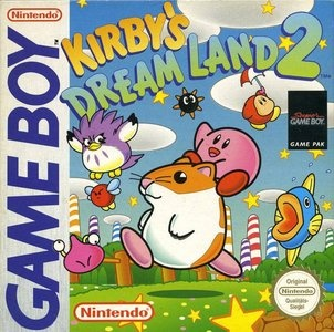 Kirby's Dream Land 2, Covermotiv/Artwork