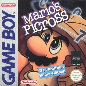 Mario's Picross, Covermotiv/Artwork