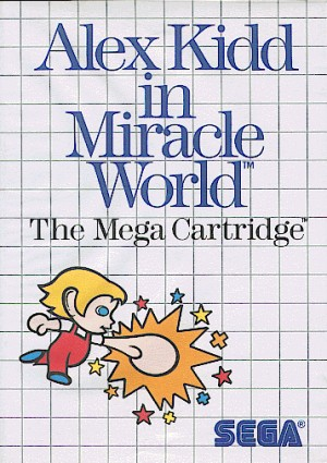 Alex Kidd in Miracle World, Covermotiv/Artwork