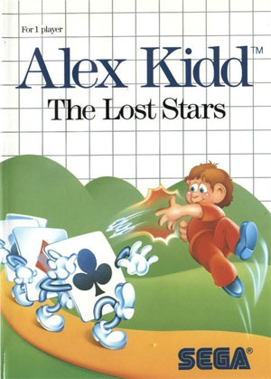 Alex Kidd: The Lost Stars, Covermotiv