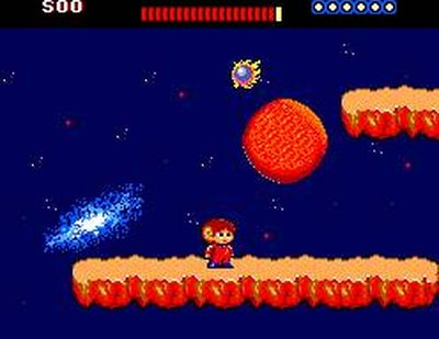 Alex Kidd: The Lost Stars, Screenshot #1