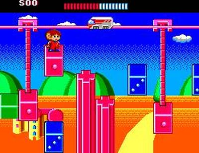 Alex Kidd: The Lost Stars, Screenshot #3