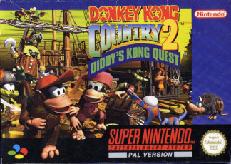 Donkey Kong Country 2: Diddy's Kong Quest, Covermotiv/Artwork