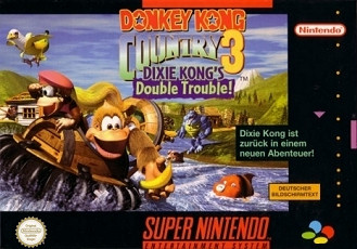 Donkey Kong Country 3: Dixie Kong's Double Trouble, Covermotiv/Artwork