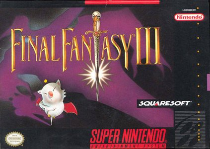 Final Fantasy III, Covermotiv/Artwork