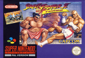 Street Fighter II Turbo: Hyper Fighting, Covermotiv