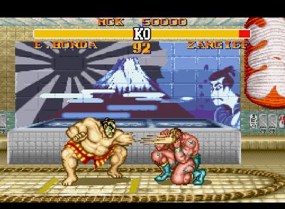 Street Fighter II Turbo: Hyper Fighting, Screenshot #4