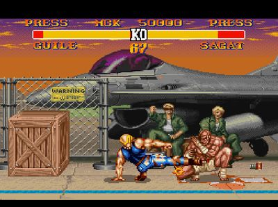 Street Fighter II Turbo: Hyper Fighting, Screenshot #5