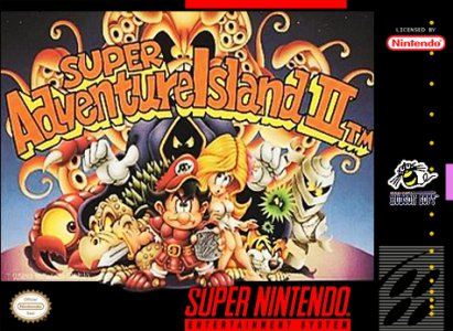 Super Adventure Island II, Covermotiv/Artwork