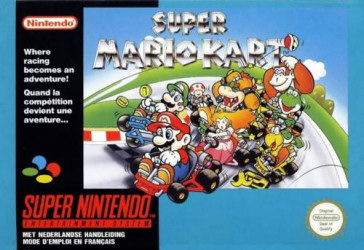 Super Mario Kart, Covermotiv