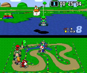 Super Mario Kart, Screenshot #3