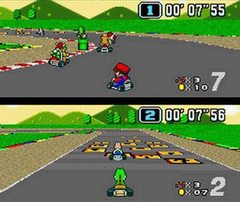 Super Mario Kart, Screenshot #4