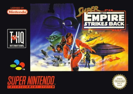 Super Star Wars: The Empire strikes back, Covermotiv/Artwork
