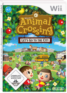 Animal Crossing: Let's Go to the City, Covermotiv/Artwork
