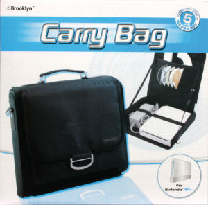 Brooklyn Carry Bag for Nintendo Wii, Covermotiv/Artwork