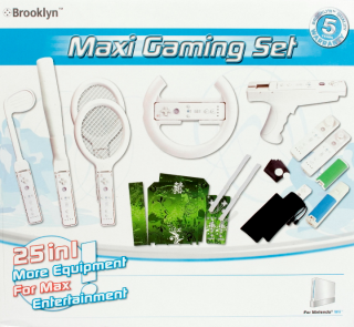 Brooklyn Maxi Gaming Set for Wii, Covermotiv